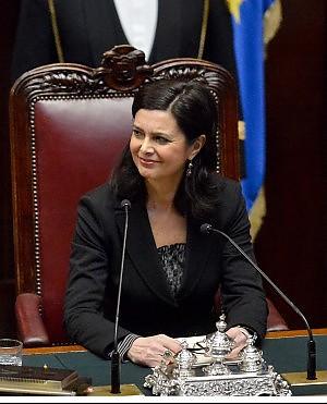 Futuromolise laura boldrini eletta presidente della camera for Presidente della camera attuale